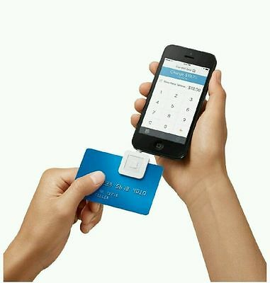 Square Credit Debit Card Reader for Apple iPhone and Android White