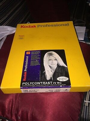 KODAK PROFESSIONAL POLYCONTRAST IV RC - B&W negative paper resin coated smooth g