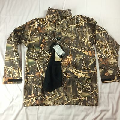 54241802144b8 New $130 Mens S Helly Hansen Impertech Rain Jacket Coat Came Duck Hunting  Max-4