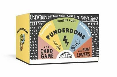 Punderdome: A Card Game For Pun Lovers - New