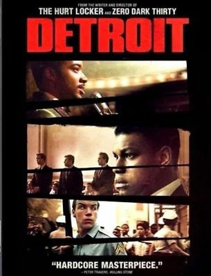 Detroit (DVD, 2017) NEW MOVIE * FAST SHIPPING