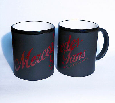 ◄NEU► Original *MERCEDES-FANS Tasse* Edition 2018, Retrolook, spülmaschinenfest