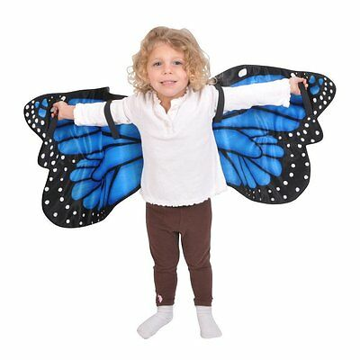 Blue Morpho Butterfly Plush Costume Wings By Adventure Kids B005E0L9SI