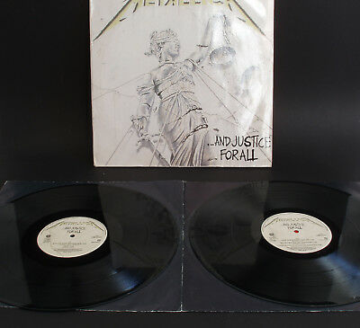 Metallica And Justice For All 1988 Vinyl Holland