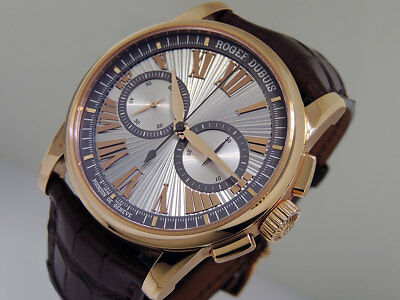 Roger Dubuis Hommage Chronograph DBH00569 Micro-Rotor 18k Rose Gold  $46,700 NIB