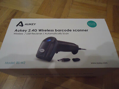 Aukey 2.4G Wireless barcode scanner !NEU!
