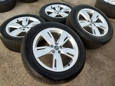 19 Audi Q5 Oem 2017 2018 Factory Wheels Rims Michelin Tires 2014