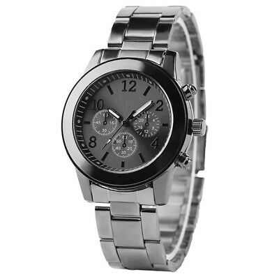 Women Wrist Watch Fashion Bracelet Stainless Steel Unisex Analog Quartz Watches