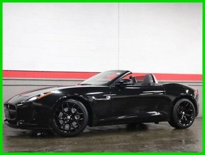 2014 Jaguar F-Type Base Convertible 2-Door 2014 Used 3L V6 24V Automatic RWD Convertible Premium