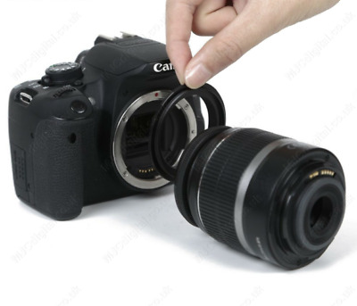 Lens Adapter Macro Reverse Ring 52mm for Canon EOS 60D/70D/1D Camera