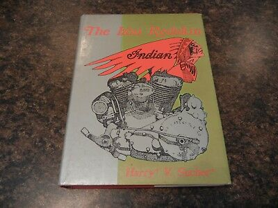 The Iron Redskin Indian Motorcycles Book By Harry V. Sucher