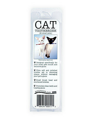 Cat And Dog Small Toothbrush - Made In The United States Of America