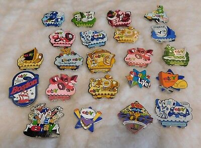Advertising eBay Live Pins 22 Several Different Years
