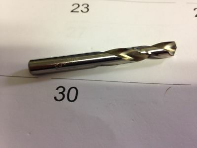 ".3125"" 5/16"" High Speed Steel Split Point Stub Length Drill Usa!"
