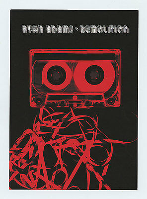 Ryan Adams 2002 Demolition Album Tour Promo Postcard