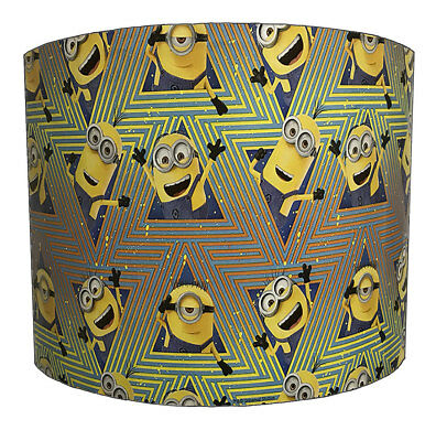 Lampshades Ideal To Match Despicable Me Duvets & Minion Wall Decals & Stickers.