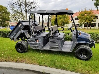 2014 Cushman Xd1600 4X4 Diesel Kubota Mule Utility Turf Farm Side By Side Golf