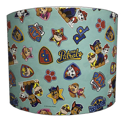Paw Patrol Lampshades, Ideal To Match Paw Patrol Wallpaper & Paw Patrol Duvets.
