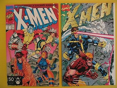 X-Men 1991 Series Issue 1 Special Collector's Edition & Regular Ed Marvel Comics