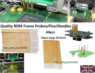 BDM Frame Pins Needles Probes Adapters Ktag Kess V2 FG Tech Galletto Piasini ECU