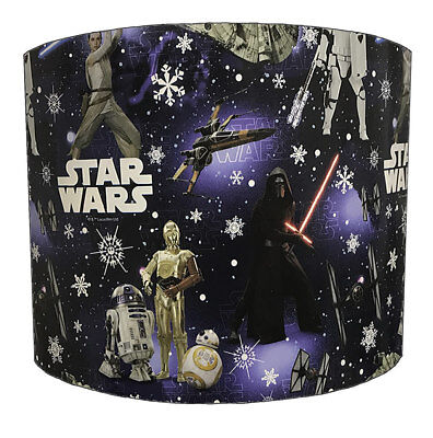 Star Wars Lampshades Ideal To Match Star Wars Wallpaper & Star Wars Quilt Covers