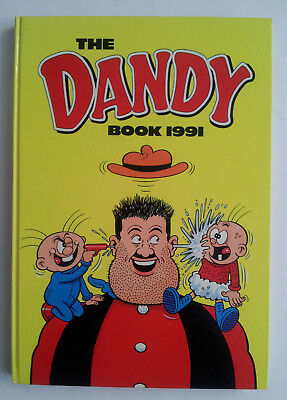 THE DANDY BOOK 1991 HB Book ANNUAL EXCELLENT CONDITION Price Unclipped