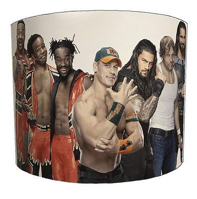 John Cena Lampshades, Ideal To Match Wrestlemania Wallpaper & WWE Quilt Covers.