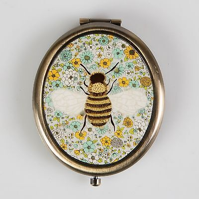 Sass & Belle Bee Pocket Mirror Compact Purse Present Gift Double Sided