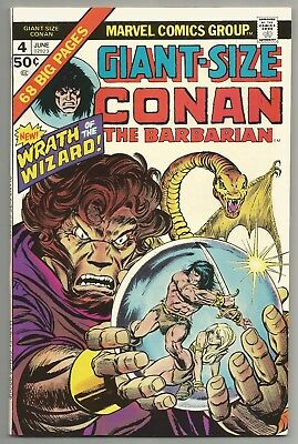 Giant-Size Conan The Barbarian Vol 1 No. 4 June 1975 Kane & Smith Art Marvel Vf+