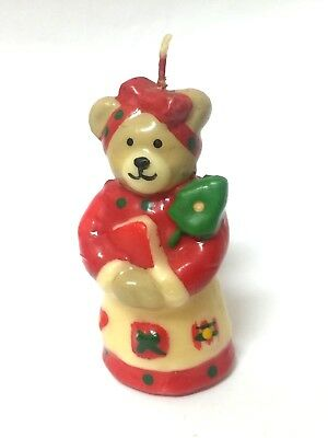 XMAS CANDLE House Party Decor Gift Bear Decor Gift Home Decoration