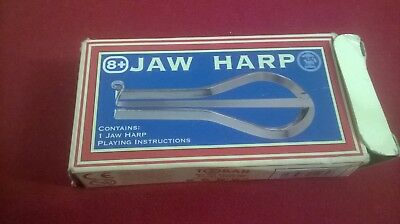 Jaw Harp with playing instructions