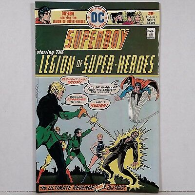 Superboy No. 211 - DC National Periodical Pub. September 1975 No Reserve!