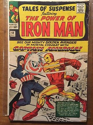 Tales of Suspense #58 GD+