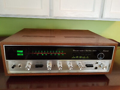 Sansui 5000X AM/FM Stereo Tuner Amplifier Receiver w/ Wood Cabinet
