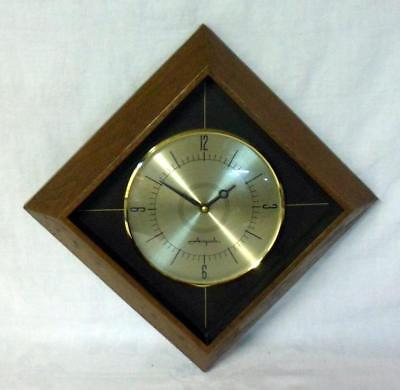 Airguide Hollywood Regency Mid Century Modern Wall Clock