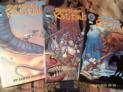 "Jeff Smith "" Stupid Stupid Rat Tails "" 1,2,3 , Cb,  Vf/nm"