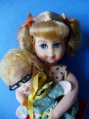 Vintage 1960s BUFFY and MRS BEASLEY Doll MATTEL TUTTI Family Affair TV Show