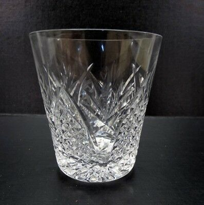 "Waterford Mooncoin 3-5//8"" Cut Crystal Old Fashin Tumbler Glass Discontinued"