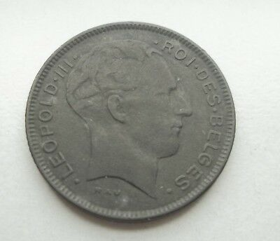 Belgium 1943 5 Francs #p-129.1 World Coin Free S/h