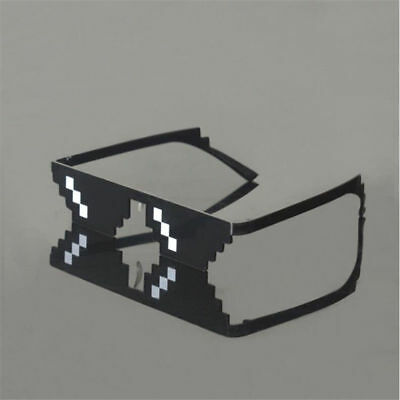 Trend Black White Mosaic Funny Creative ABS Glasses Novelty Costumes Accessories