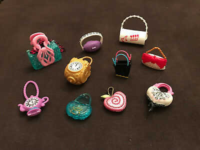 Lot Of Brand New Mattel Monster High Ever After Doll Handbags And Purses!  #3