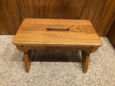 Amish Made Solid Oak Bench