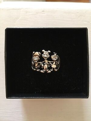 Animaniacs sterling silver ring size 8