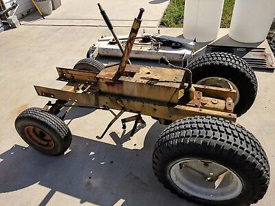 122 Cub Cadet, Manual Transmission Chassis, 1 Mowing Deck,  Ez Rake And Blower