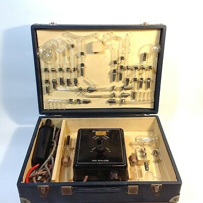 Vintage Medical Quackery Violet Ray High Frequency Machine