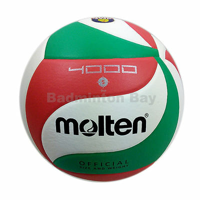 Genuine New Molten V5M 4000 Official Size 5 Volleyball FIVB Approved Volley Ball