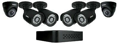 UNIDEN GDVR4340 DVR SECURITY SYSTEM D1 TECHNOLOGY 4 x WEATHERPROOF CAMERAS 4CH