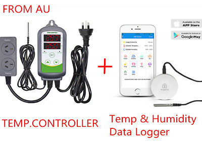 INBIRD ITC-308 Temperature Controller + Bluetooth Temp & Humidity Data Logger