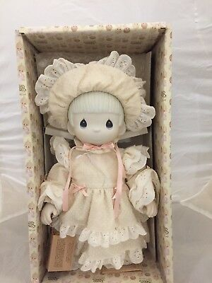 """PM Precious Moments E-2851 KRISTY Porcelain Doll in Box & Paperwork 13"""""""