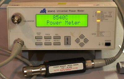 Giga-tronics 8541C Power Meter with 80320A sensor 10 MHz-18 GHz plus cables